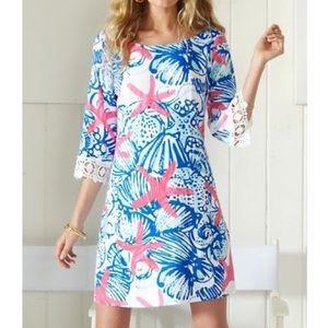 LILLY PULITZER Harbor Tunic Dress She She Shells M
